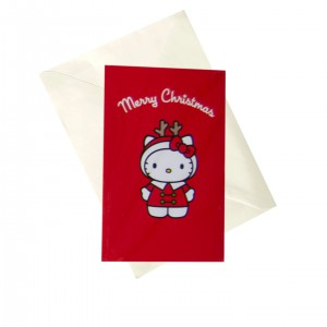 KX12 Cards 6 pack - Hello Kitty Antlers