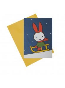 """Поздравителна картичка  """"Miffy"""""""
