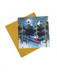 IGC119 Dotty Fox in Winter Pines