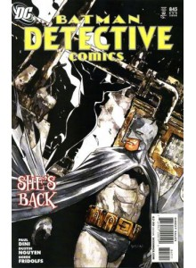 Комикс 2008-08 Batman Detective Comics 845