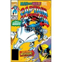 Комикс 1992-07 Captain America 403