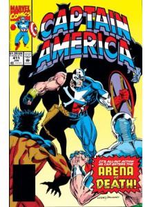 Комикс 1993-01 Captain America 411