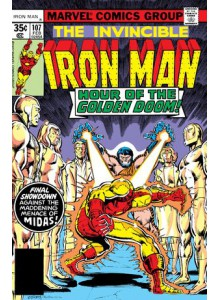 Комикс 1978-02 Iron Man 107
