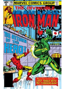 Комикс 1980-06 Iron Man 135