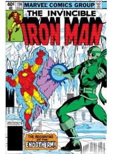 Комикс 1980-07 Iron Man 136
