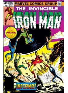 Комикс 1980-08 Iron Man 137
