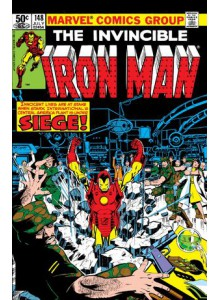 Комикс 1981-07 Iron Man 148