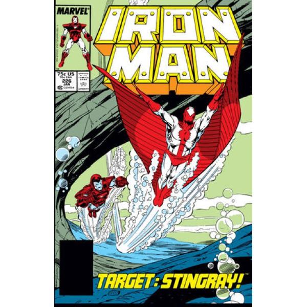 Комикс 1988-01 Iron Man 226 1