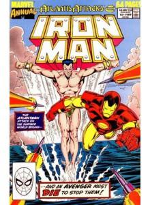 Комикс 1989-08 Iron Man Annual 10