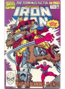 Комикс 1990-09 Iron Man Annual 11