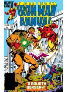Комикс 1984-10 Iron Man Annual 7