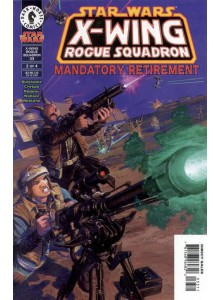 Комикс 1998-08 Star Wars - X-Wing Rogue Squadron - Mandatory Retirement 2
