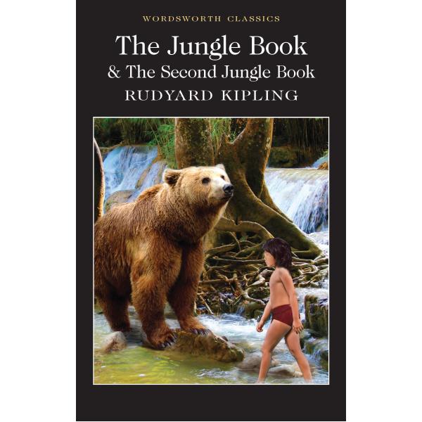 Ръдиард Киплинг | Книга за Джунглата Първа и Втора Част на английски език 1