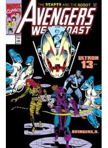 Комикс 1991-01 Avengers West Coast 66