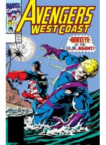 Комикс 1991-04 Avengers West Coast 69