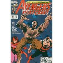 Комикс 1992-10 Avengers West Coast 87