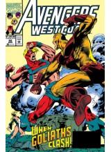 Комикс 1993-03 Avengers West Coast 92