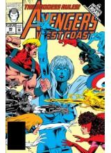 Комикс 1993-07 Avengers West Coast 96