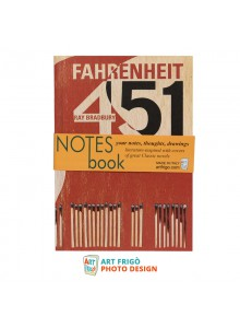 "Тефтер ""451 градуса по Фаренхайт"" на Рей Бредбъри"
