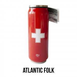 Travel Mug Roadie Apothecary in Red