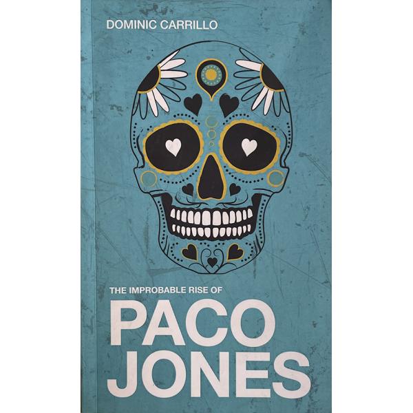 Книга с автограф Dominic Carrillo | The Improbable Rise of Paco Jones 1