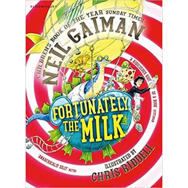 За щастие, млякото | Нийл Гейман 1