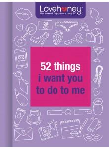 """Малка книжка - """"18+ 52 неща, които искам да ми направиш"""""""