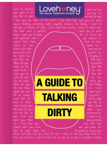 BOOKLHY04 Giftbook Lovehoney - A Guide to Talking Dirty