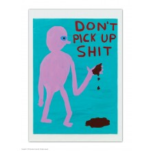 Пощенска Картичка Don't Pick Up Shit David Shrigley