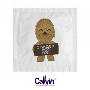 1704 Condom - Chewbacca I Shaved For You