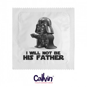 1058 Condom - I Will Not be His Father Darth Vader
