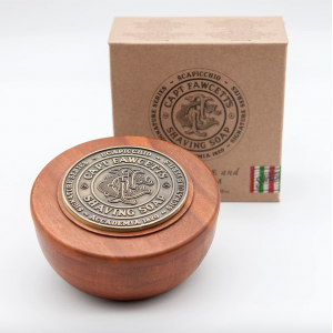 Scapicchio's Fig Olive and Bay Rum Shaving Soap