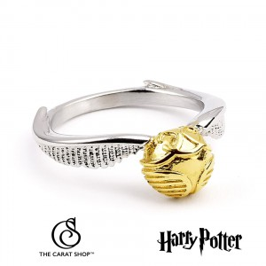 Ring Harry Potter Golden Snitch