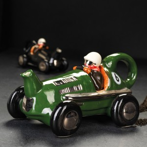 Teapot Retro Racing Car