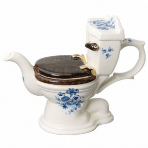 "Teapot Toilet ""At Your Convenience"""