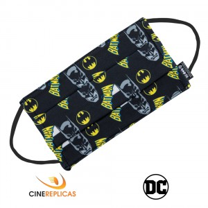 CR6101 DC Comics  - Batman reusable black barrier mask защитна маска