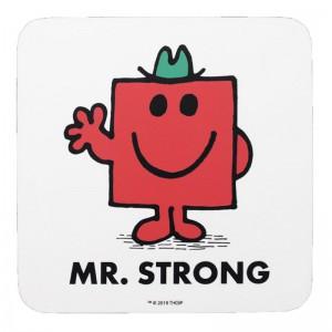 Подложка за чаши Mr Strong Men