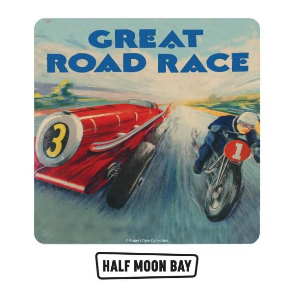 Retro Humour - Подложка за чаши The Great Road Race 1