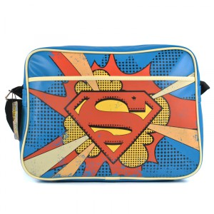 Superman Logo Vintage Bag BAGRDM02B