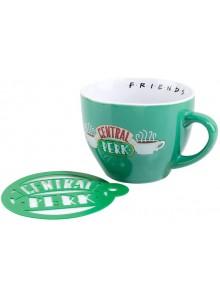 """Чаша за капучино с форма за канела Сентрал Пърк от """"Приятели"""""""