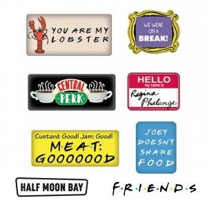 MAGEFDS01 Epoxy Magnet Set Friends Quotes