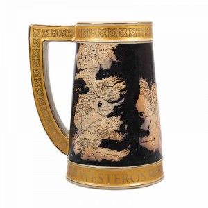 Stein Mug | Game of Thrones Map of Westeros