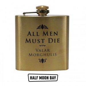 Hip Flask Game of Thrones - All Men Must Die
