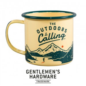 Enamel Mug The Outdoors is Calling GEN321