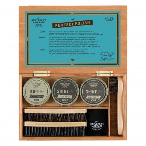 GEN256 Shoe Shine Cigar Box Set