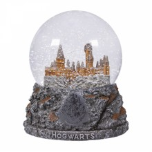 Large Crystal Snow Globe | Harry Potter Hogwarts Castle