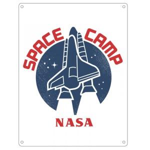 SSA5NA05 Малка Метална Табела Наса Космическа База