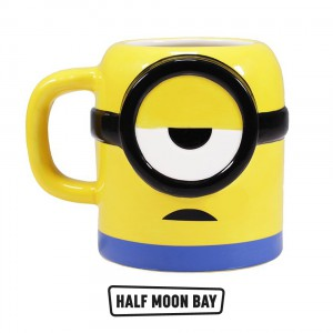 MUGDMI01 Mug Shaped Boxed - Universal Minions Mood Coffee