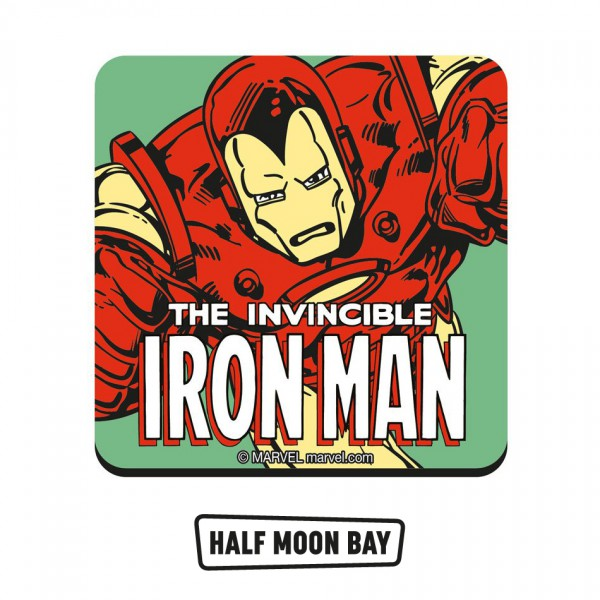 """DC & MARVEL - Подложка за чаши """"Железният човек"""" 1"""