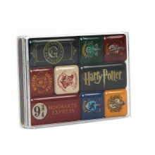 Epoxy Magnet Set Harry Potter Houses MAGEHP01